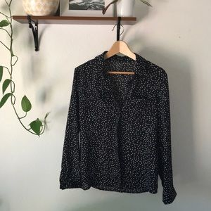Nasty Gal Starry Button-Up